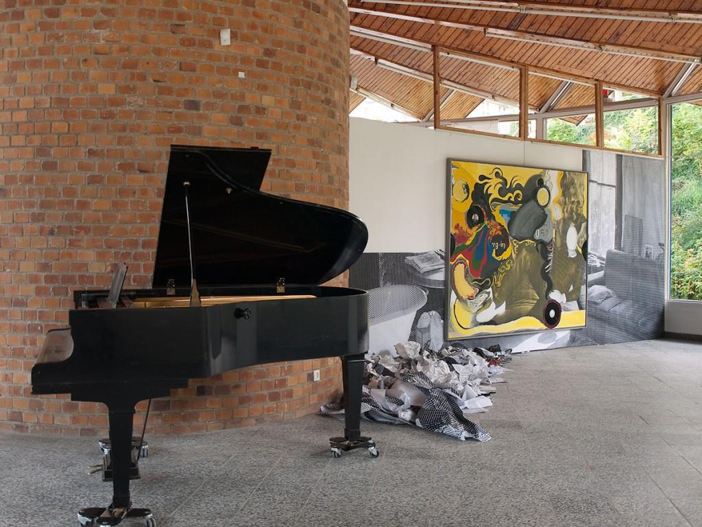 Klaus Killisch: im Zeitstrom verschollen - Hommage à Ciurlionis / 1. Okt. - 4. Dez. 2011 / Kunstpavillon Heringsdorf