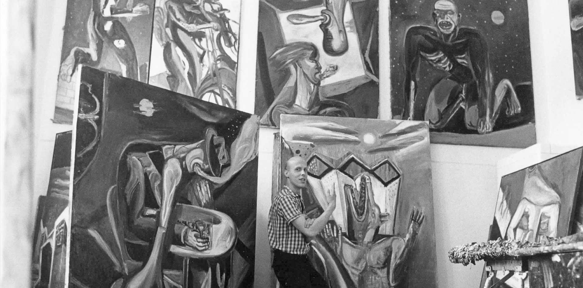 paintings 1987 – 1991
