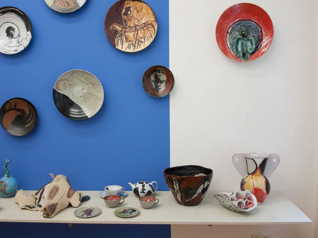 brennzeiten, 2014, Künstler-Keramik 90er Jahre, Werkstatt Wilfriede Maaß, Gestaltungsentwurf Klaus Killisch, Sabine Herrmann