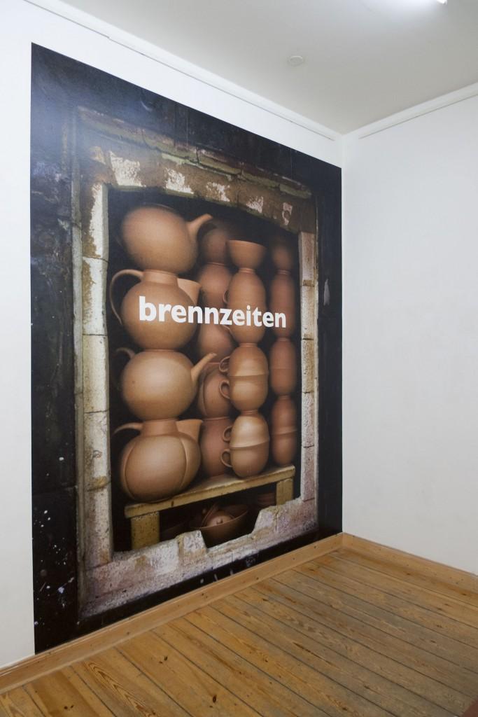 brennzeiten, 2014, Fotos Thomas Florschuetz, 1986, Entwurf Bildtapeten Klaus Killisch