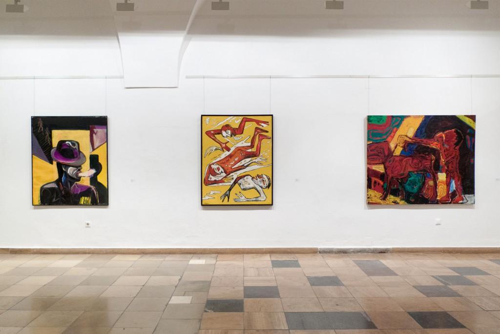 DDR EXPRESSIV - die 80er Jahre. Museum Junge Kunst Frankfurt O, Klaus Killisch, Wolfgang Smy, Gerd Sonntag