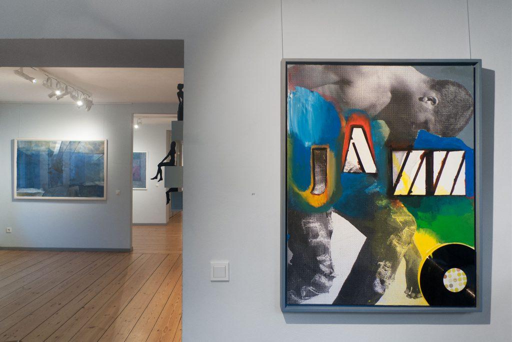 ICH & ICH, 2016, Galerie KUNST-KONTOR, Potsdam, Klaus KIllisch, Sabine Herrmann